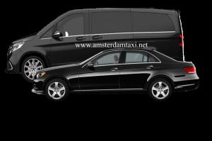 standaard taxi of een taxibusje